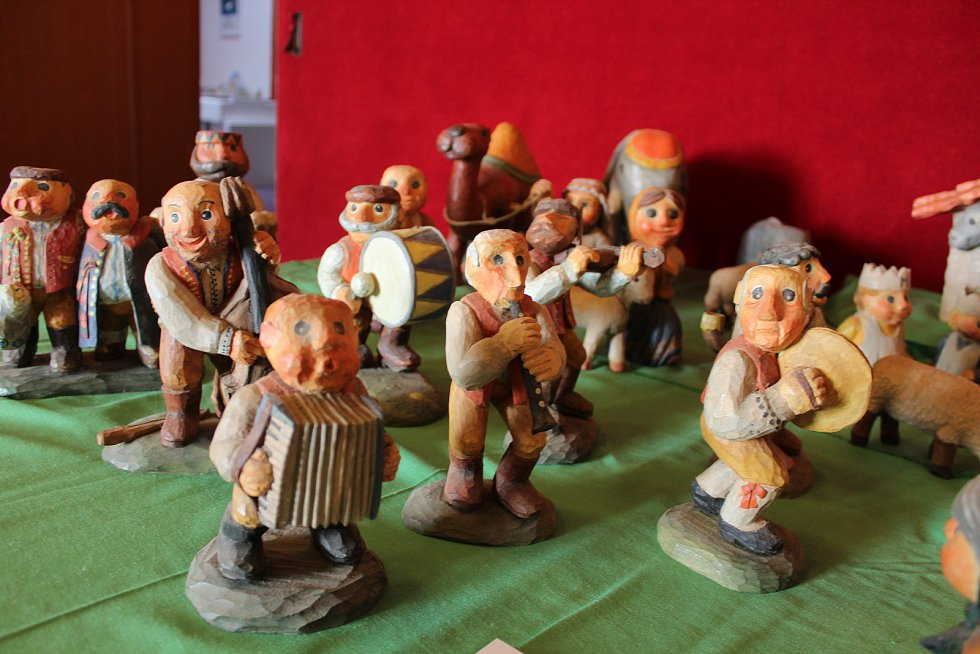 Hodonínský kulturní dům se již plní betlémy. Výstava se otevře v neděli odpoledne.