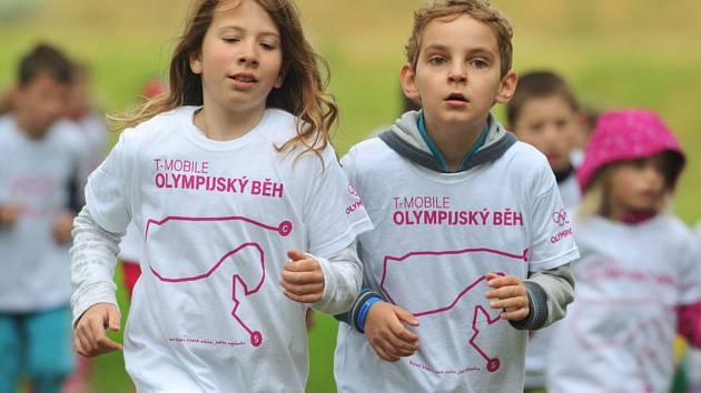 T-Mobile Olympijský běh. Ilustrační foto.