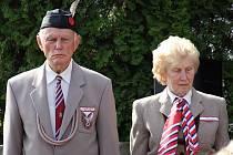 Připomenout si odbojáře a padlé ve druhé světové válce přišli i zástupci Sokolů.