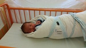 Robert Reniers, 48 cm, 3550 g, Petrov, nemocnice Kyjov