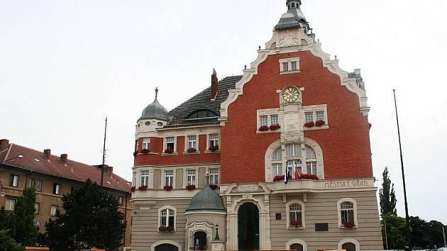 Hodonínská radnice.