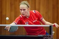 Linda Záděrová patří k nadějím českého stolního tenisu.