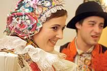 Pro Blatnici pod Svatým Antonínkem je krojovaný ples tradiční akci. Snímky jsou  z ledna 2014.