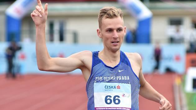 Filip Sasínek si v Opavě vytvořil osobní rekord na pětikilometrové trati.