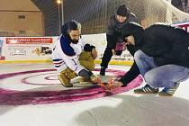 Curlingový turnaj ve Veselí.