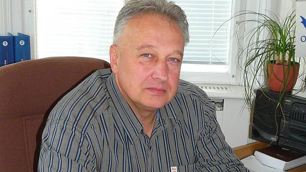 Bývalý starosta Hodonína Lubor Šimeček.