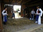 Slavnost zemědělského hospodaření. Ve strážnickém Skanzenu oslavili tradiční dožínky