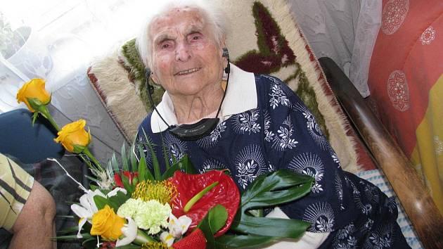 Stoletá Růžena Blahutková