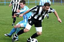 Divize D: ŽĎAS Ždár n/S. (v černobílém) vs FK Šardice