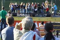 Jedenáctý ročník Festivalu na vodě, který se konal na Lučině u Tvarožné Lhoty, opět nabídl bohatý program.