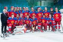 Junioři Ruska bez porážky ovládli turnaj čtyř zemí v Hodoníně, který se od pátku do neděle konal na Zimním stadionu Václava Nedomanského.