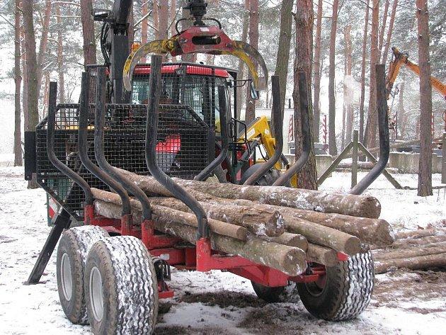 Střední odborné učiliště lesnické a rybářské ve Bzenci a den otevřených dveří.