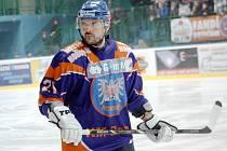 Kapitán druholigového Hodonína Petr Pokorný odehrál v neděli čtyřsté utkání v dresu Drtičů.