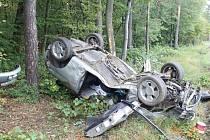 Nedělní nehoda u Žarošic.