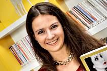 Spisovatelka Žaneta Voldánová.