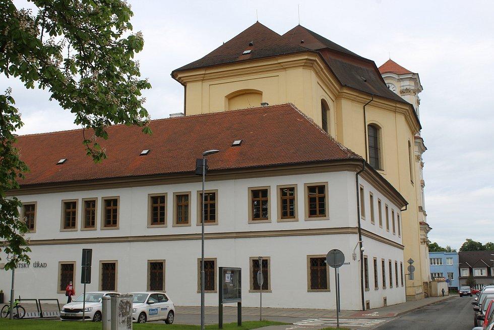 Radnice ve Veselí nad Moravou.