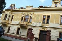 Fürstova vila po kompletní obnově fasády.