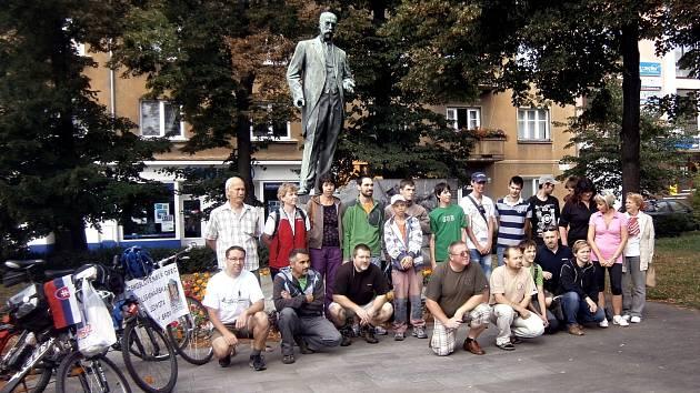Cyklopřejezd v Hodoníně. Ilustrační foto.