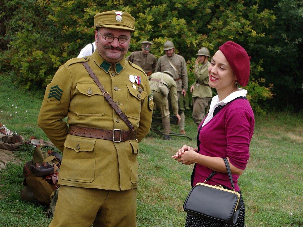 Připomínku dobytí ruské Kazaně československými legiem v srpnu 1918 připomněl v sobotu program připravený Československou obcí legionářskou ve strážnickém skanzenu.