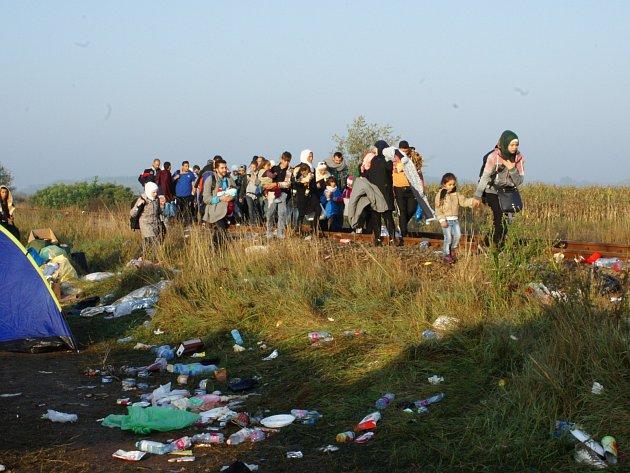 Uprchlíci. Ilustrační foto.