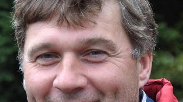 Trenér Zdeněk Lípa.