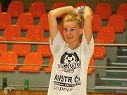 Třiadvacetiletá spojka Diana Poláchová (na snímku) je novou posilou hodonínských interligových házenkářek.