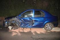 Nehoda mezi Kyjovem a Strážovicemi se dvěma zraněnými.