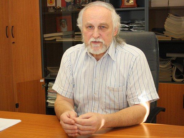 Hovoranský starosta Josef Grmolec.