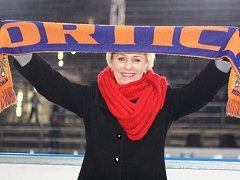 Šéfka hodonínských hokejistů Jana Gajošová byla po středečním utkání Drtičů v Opavě hodně rozladěná. Slovácký celek totiž přišel na ledě Slezanu o tři zraněné hráče.