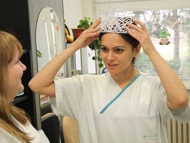 Miss Sestra sympatie 2015 Petra Hašlíková z kyjovské nemocnice.