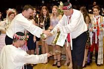 Krojový ples v Lužici.