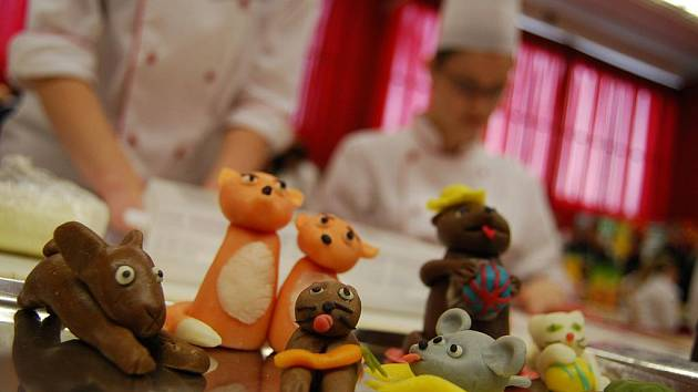 Gastroden ukázal umění studentů bzenecké potravinářské střední školy.