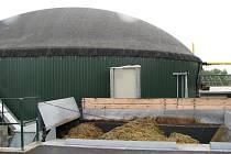 Bioplynová stanice v Mikulčicích