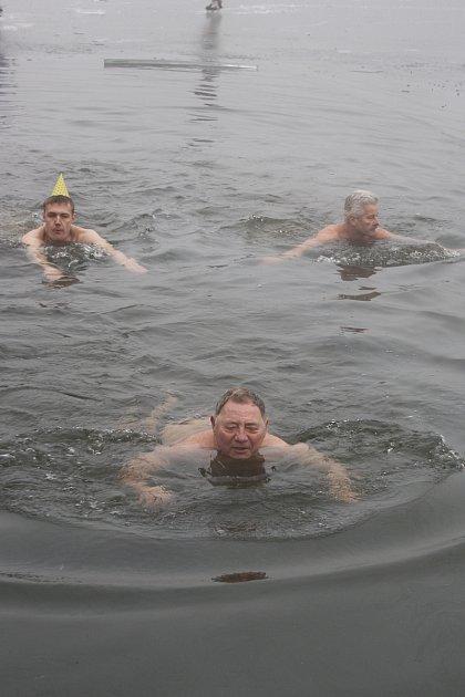 Otužilec a zimní plavec Antonín Krejčiřík. Zdroj: databanka Deníku