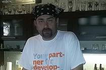 Dan Kordula při jednom ze svých pořadů o vaření.