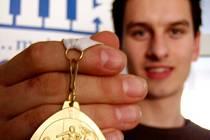 Jaroslav Chlebík se zlatou medailí z republikového šampionátu