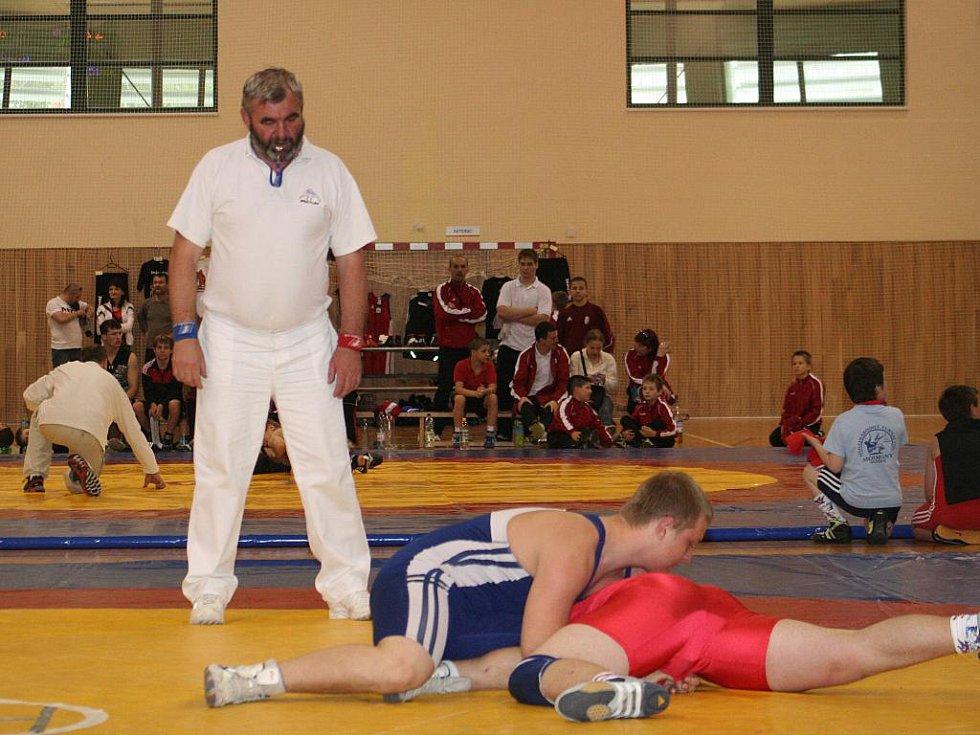 Hodonínští zápasníci bodovali ve Slováckém poháru.