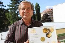 Miroslav Vaculík získal zlatou medaili v soutěži Český med 2019.