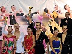 Václav Masaryk s Klárou Chovančíkovou ovládli další soutěž Taneční ligy ČSTS latin dospělí. Triumf zaznamenali také Martin Berčík s Karolínou Petříkovou.