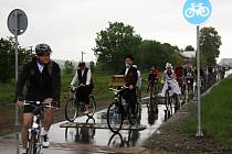 Slavnostní otevření cyklostezky Mutěnka.