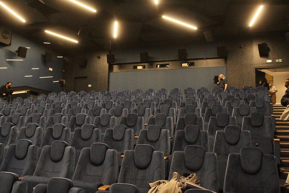 Představení Kina Svět v Hodoníně po rozsáhlé rekonstrukci.
