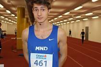 Mladí hodonínští atleti na letošním halovém mistrovství České republiky juniorů a dorostenců neuspěli. Jedinou medaili získal sprinter Štěpán Voborník, který bral v závodě na dvě stě metrů bronz.