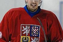 Hodonínský hokejový útočník Jan Korotvička.