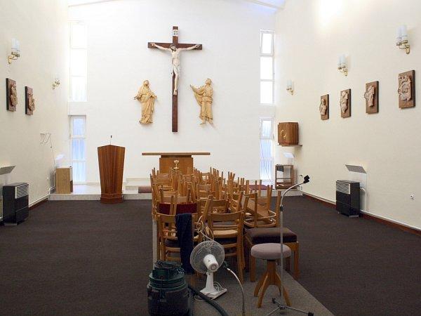 Jednačtyřicet let stará kaple svatého Martina vKozojídkách má za sebou rozsáhlé opravy.