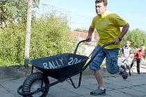 Druhý ročník soutěže koleček Labuty Rally.