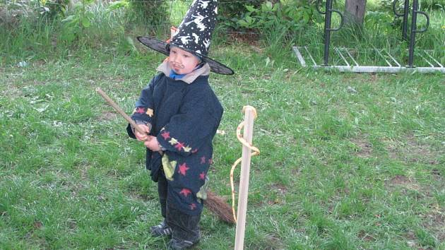 Pálení čarodějnic v Hodoníně