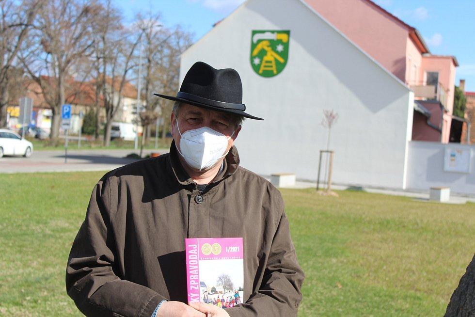 Starosta Lužic Tomáš Klásek.