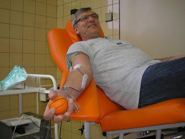 Valentýnská kapka krve – odběry dárců a prvodárců v hodonínské nemocnici.