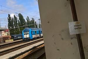 Ve stanici Hodonín začíná oprava výpravní budovy.