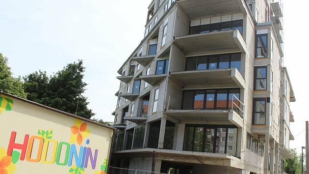 Nová bytová výstavba v Hodoníně, a to v Očovské ulici.